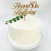 Happy 80th Birthday Cake Topper
