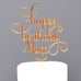 Happy Birthday Mum Cake Topper
