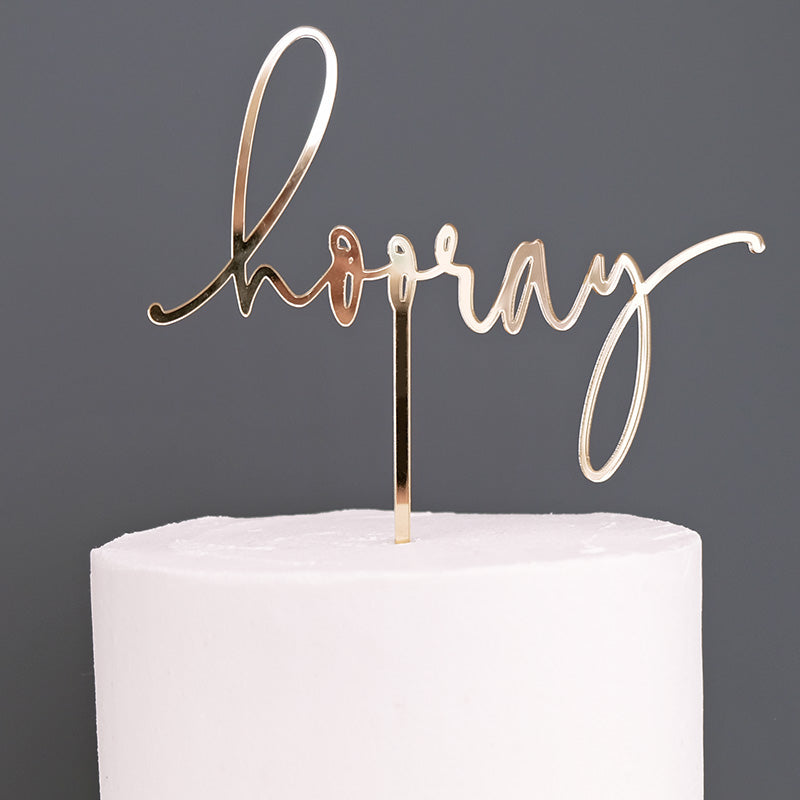 Hooray, Celebration Cake Topper