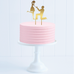 Proposal Engagement Cake Topper