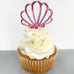 Mermaid Shell Cupcake Topper