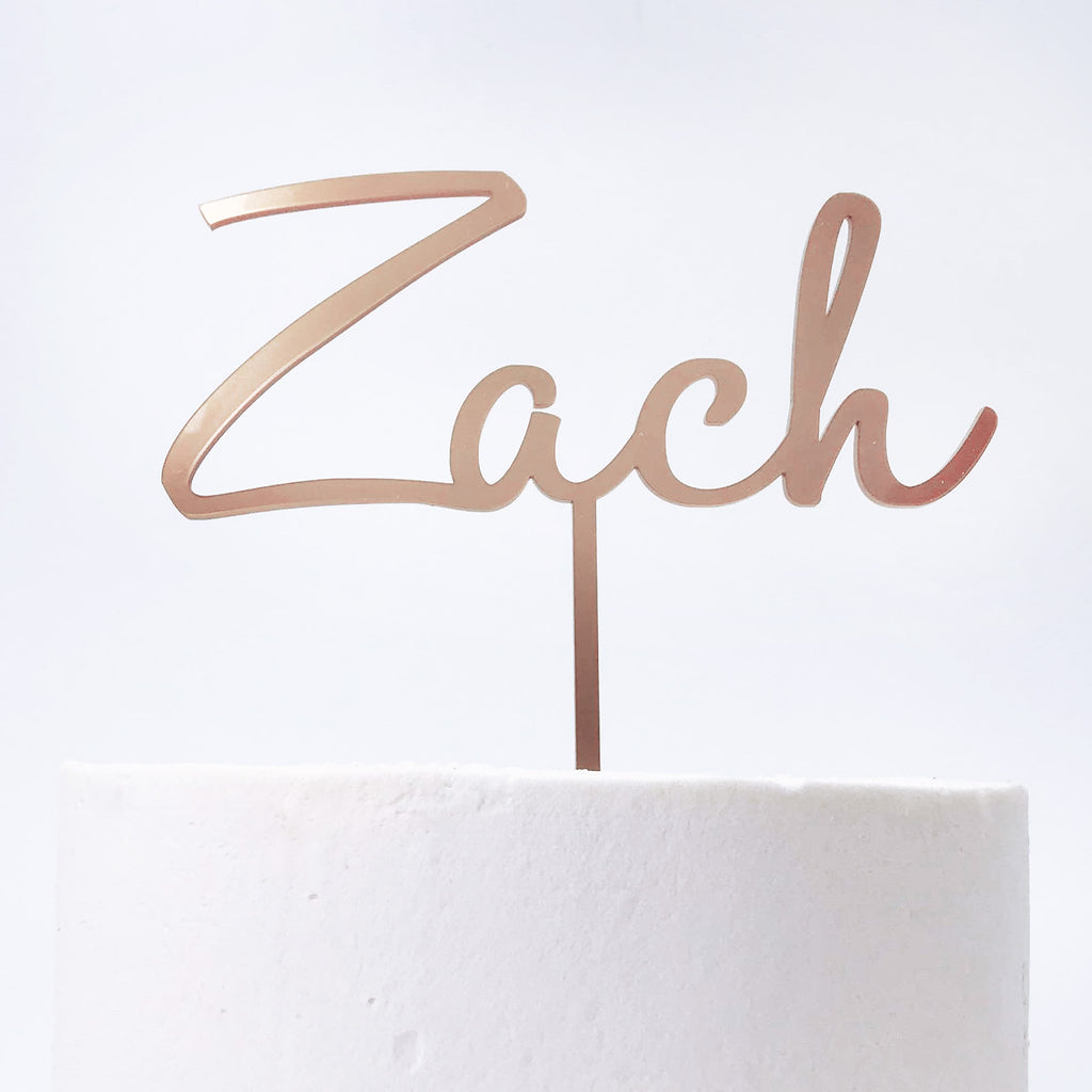 Personalised Name Topper