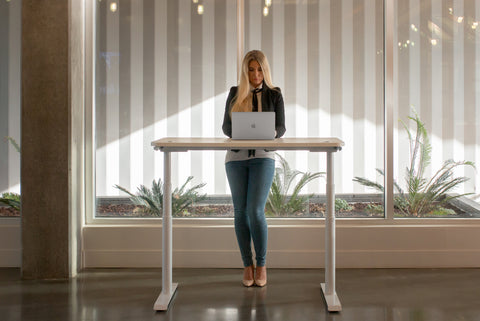 The Standing Desk that Goes With Any Interior