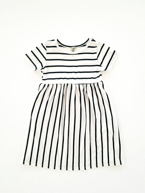 Perfectly Striped T-Dress