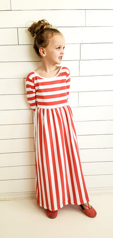 Ruby Stripe Dress