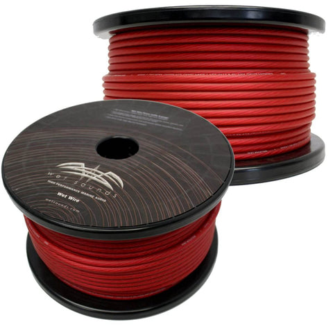 Wet Sounds 8 Gauge Amp Wire - 250 Ft Spool