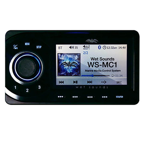 Wet Sounds WS-MC-1  - 4 Zone Marine Media Center