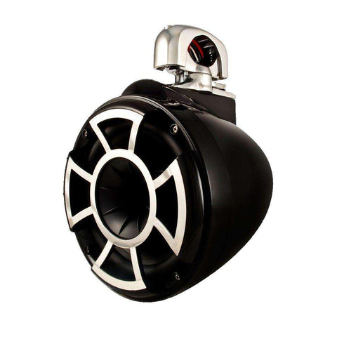Wet Sounds Rev 8s w/TC3 Swivel Mount - Black - Pair - www.wetsounds.com.au
