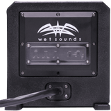 Wet sounds Stealth AS-6 250 watts Active Subwoofer Enclosure - www.wetsounds.com.au