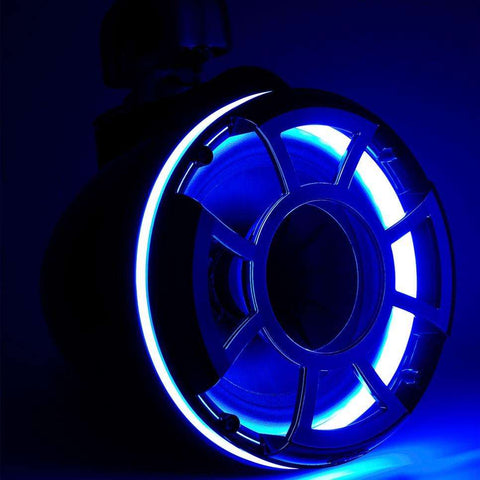 Wet Sounds REV 8 LED Rings - Blue - Pair - www.wetsounds.com.au