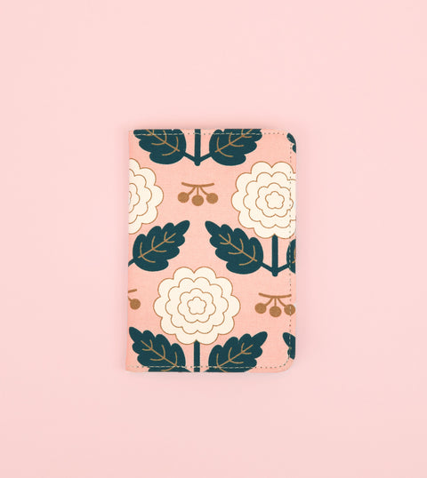 MARGOT PASSPORT HOLDER - BLUSH