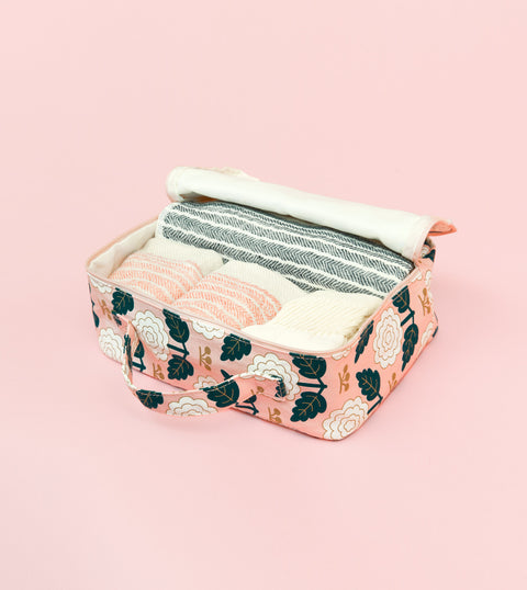 MARGOT TRAVEL ORGANIZER MEDIUM - BLUSH