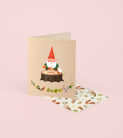 GNOME'S BIRTHDAY CARD