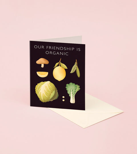 VEGETABLE FRIENDSHIP CARD