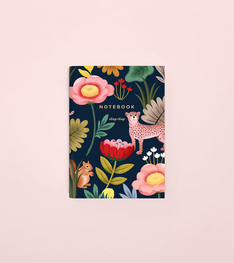 ANIMAL KINGDOM POCKET NOTEBOOK - NAVY