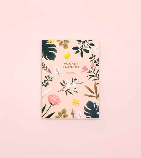 BOTANICAL POCKET PLANNER – PINK