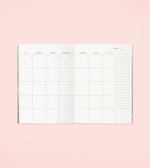 BOTANICAL POCKET PLANNER – BLACK