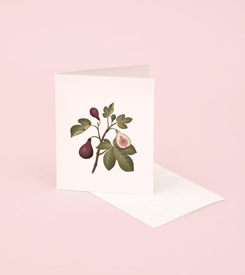 BOTANICAL SCENTED CARD – FIG
