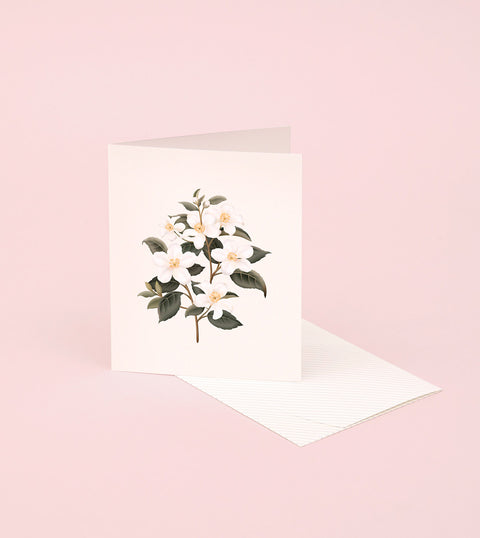 BOTANICAL SCENTED CARD – ORANGE BLOSSOM