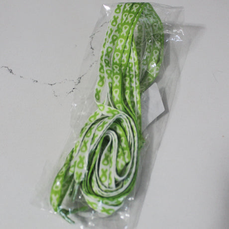 Lyme Awareness Shoelaces