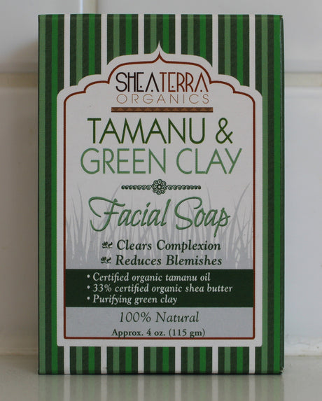 Tamanu & Green Clay Soap