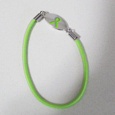 Lyme Awareness Stretch Bracelet