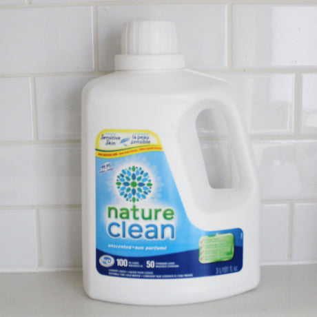 Nature Clean Laundry detergent Unscented