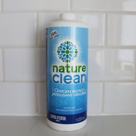Nature Clean Oxygen Bleach 1ltr