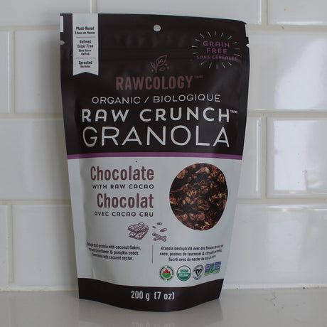 Rawcology Granola Chocolate with Raw Cacao (200g)