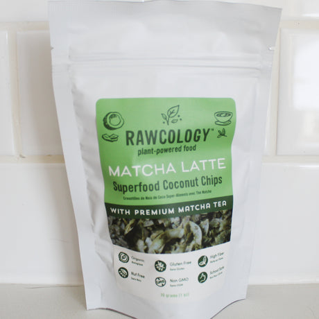 Rawcology Matcha Coconut Chips (30g)