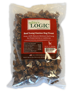 Beef Lung Canine Treat by Nature's Logic