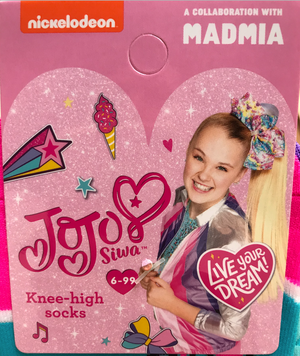 JoJo Siwa collaborates with MADMIA to create a range of MUST HAVE socks