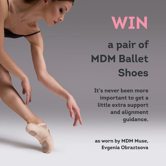 Win a pair of MDM Intrinsic 2.0 Ballet Shoes