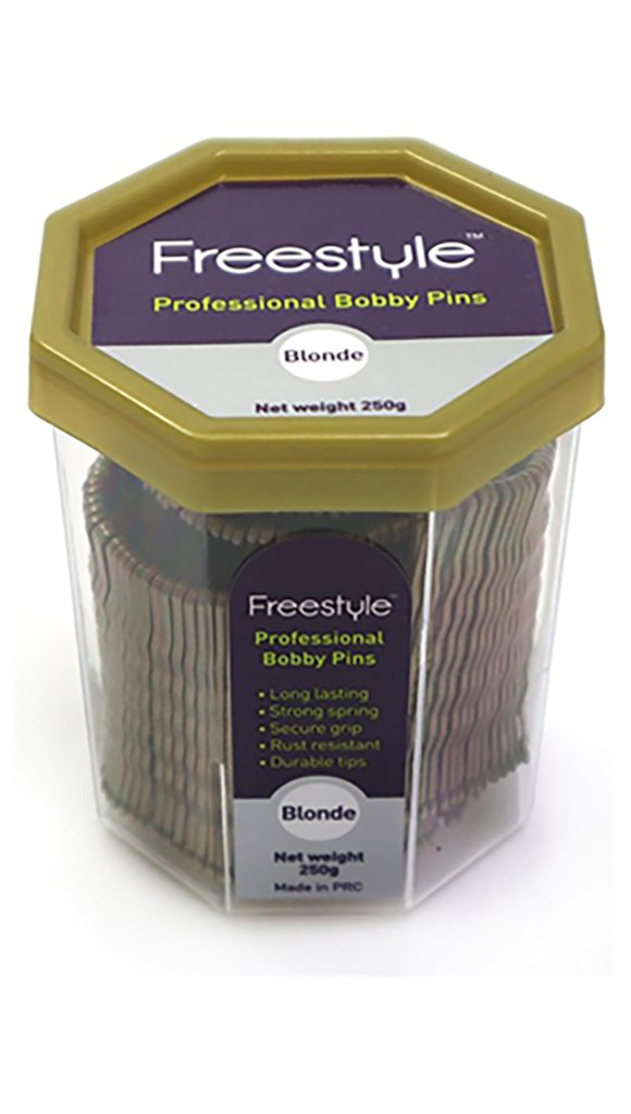 Freestyle Professional Bobby Pins - 250G Tub