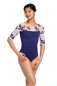 Ainsliewear Sonia with Frosted Petal Print Leotard -  Adult sizes
