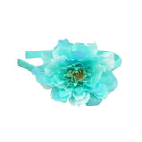 Pretty Dehlia Flower Headband