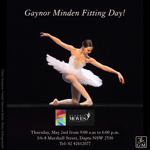 Gaynor Minden Fitting Day