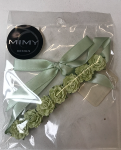 Mimy Hair Blossoms - Medium Green