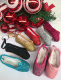 So Danca Mini Glitter Pointe Shoe Keyring