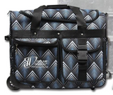 Dream Duffel Blue 'Pinnacle' Pattern