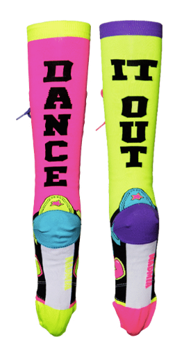 MadMia Dance It Out socks
