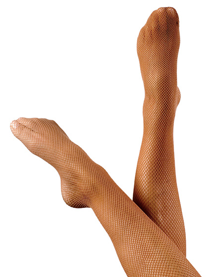 Fiesta footed small hole Fishnets - Child Size