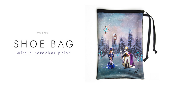 Ainsliewear Nutcracker Shoe Bag