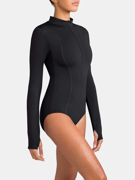 Capezio Tech Encryption Long Sleeve Leotard