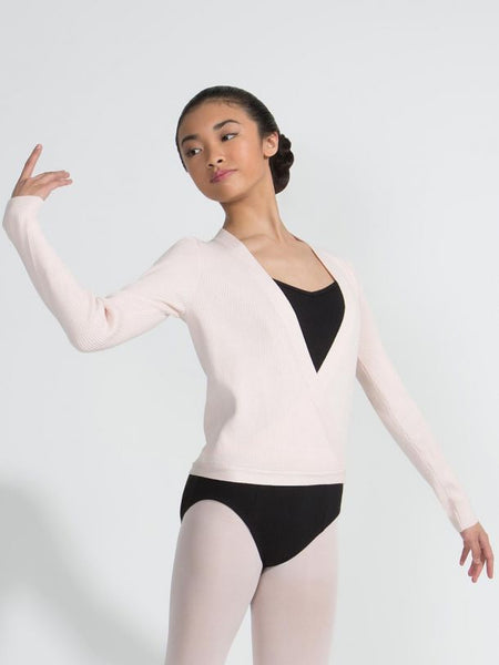 Capezio Knit Wrap Sweater