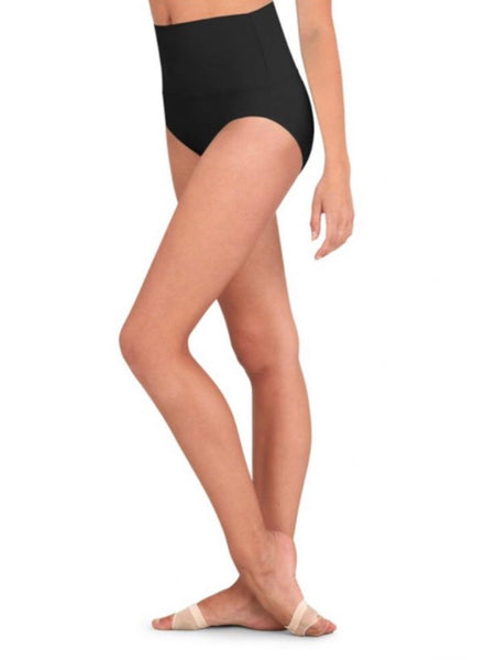 Capezio Adult's High Waisted Dance Briefs