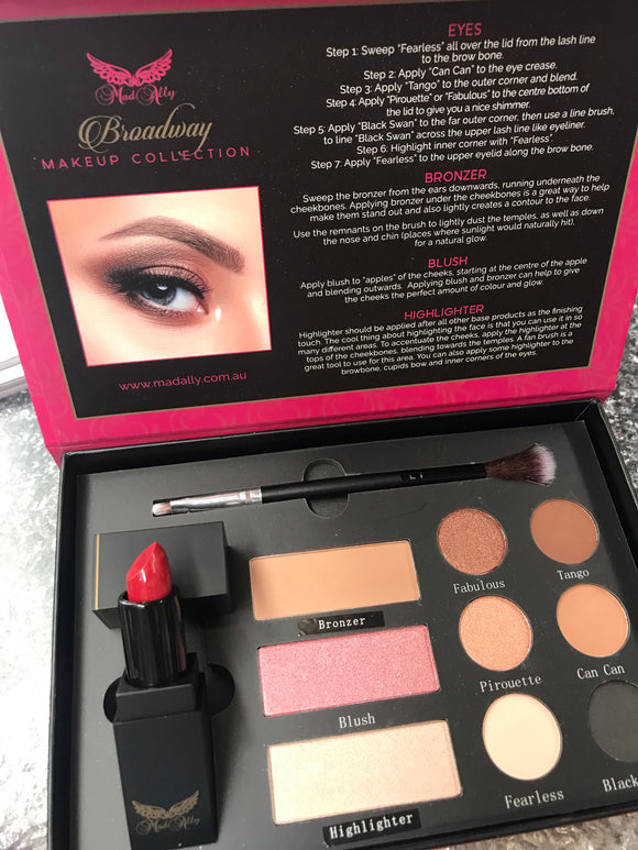 Mad Ally Makeup Pallette