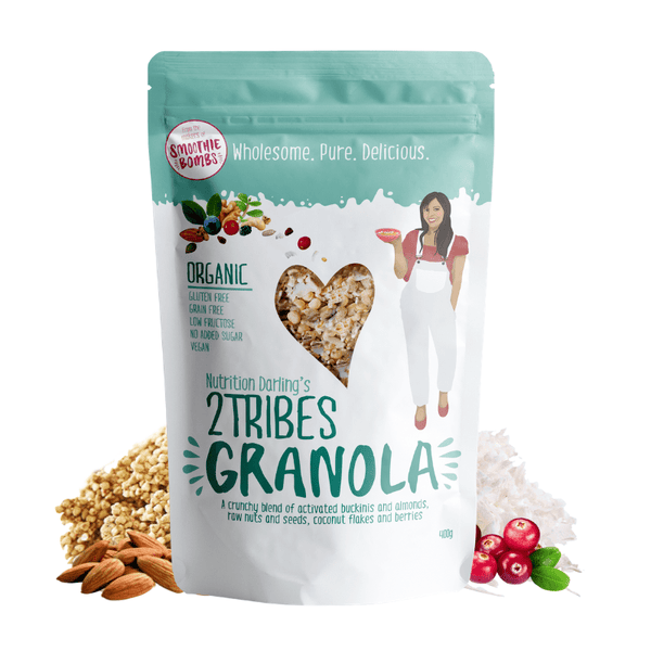 Smoothie Bombs - 2 Tribes Granola 400g Pack