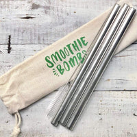 Smoothie Bombs - Reusable Thick Smoothie Straw Set