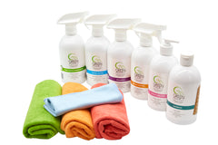 Starter Pack - Complete Natural Home Cleaning Solution